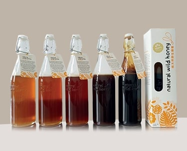Buy 5 Get 1 Free Promotion  100% Natural Wild Honey - Bottle (600g)